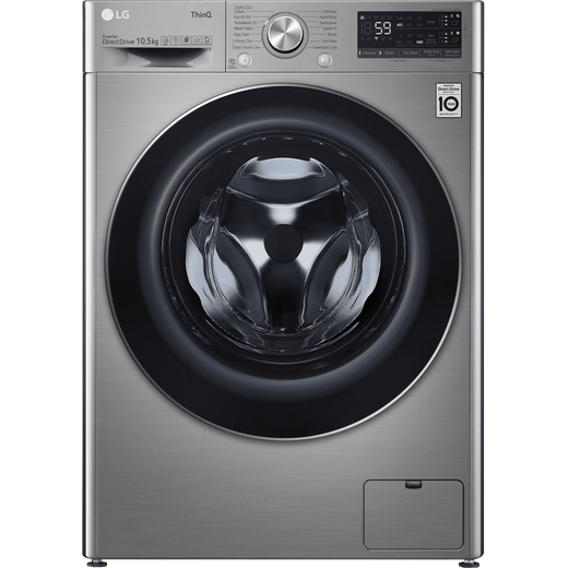 LG V7 F4V710STSA Wifi Connected 10.5Kg Washing Machine with 1400 rpm - Graphite - B Rated