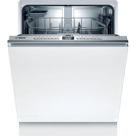 Bosch Serie 4 SMV4HAX40G Wifi Connected Fully Integrated Standard Dishwasher - Stainless Steel Control Panel - A++ Rated
