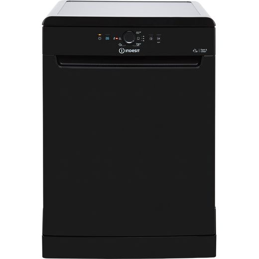 Indesit DFE1B19BUK Standard Dishwasher - Black - A+ Rated