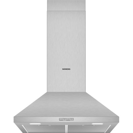 Siemens IQ-100 LC64PBC50B 60 cm Chimney Cooker Hood - Stainless Steel - D Rated