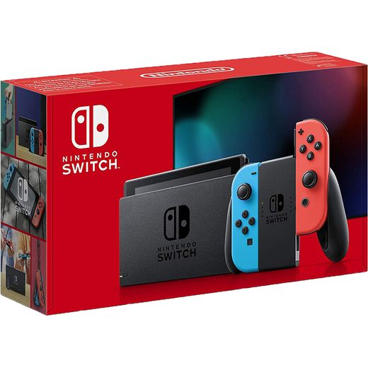 Nintendo Switch 32GB - Neon Red/Blue