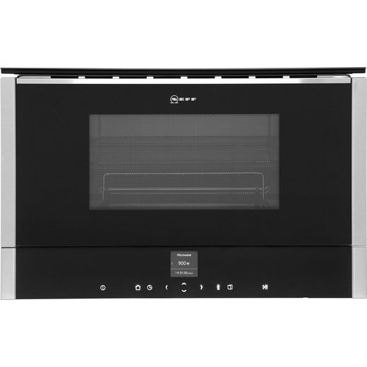 NEFF N70 C17GR01N0B Built In Microwave With Grill - Stainless Steel