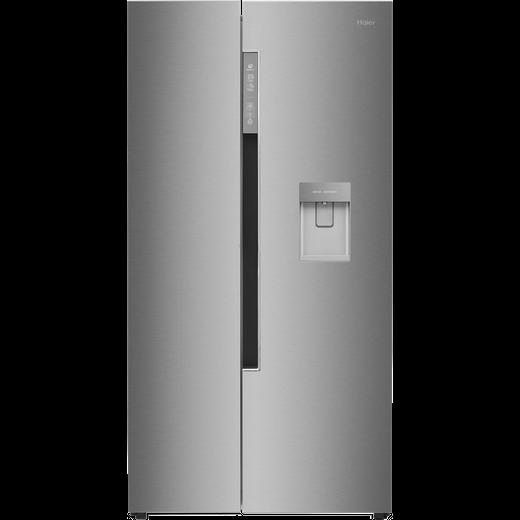 Haier HRF-522IG6 American Fridge Freezer - Silver