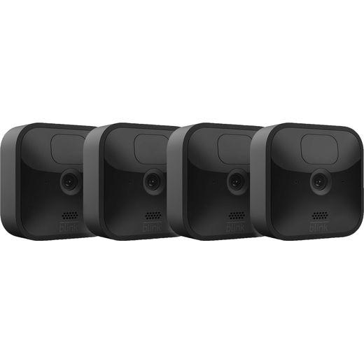 Blink Outdoor 4-Camera System Full HD 1080p - Black
