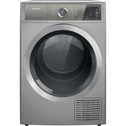 Hotpoint H8D94SBUK Heat Pump Tumble Dryer - Silver - A+++ Rated