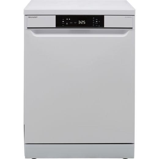 Sharp QW-NA1BF47EW-EN Standard Dishwasher - White - E Rated