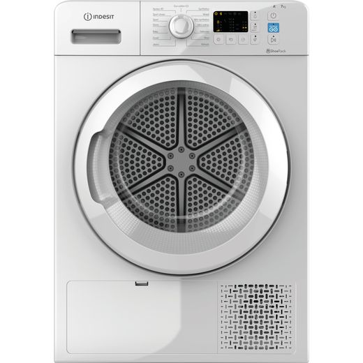 Indesit YTM1071RUK 7Kg Heat Pump Tumble Dryer - White - A+ Rated