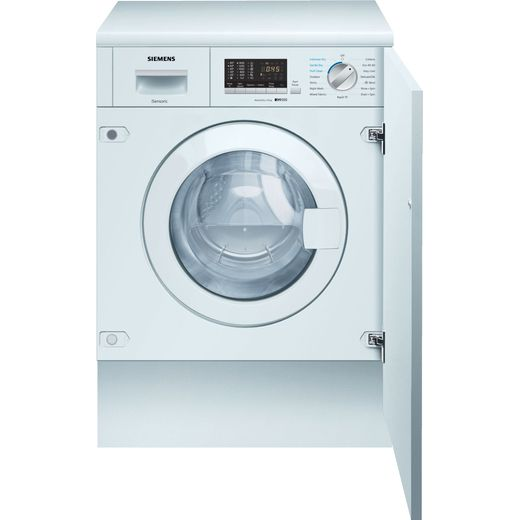 Siemens IQ-500 WK14D542GB Integrated 7Kg / 4Kg Washer Dryer with 1400 rpm - White - E Rated