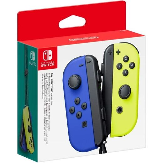 Nintendo Joy-Con Pair - Blue / Neon Yellow
