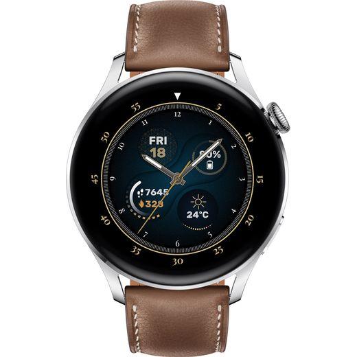 HUAWEI Watch 3 Classic 4G Smart Watch - Brown