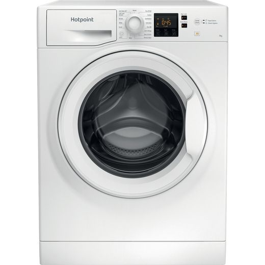 Hotpoint NSWM743UWUKN 7Kg Washing Machine with 1400 rpm - White - E Rated