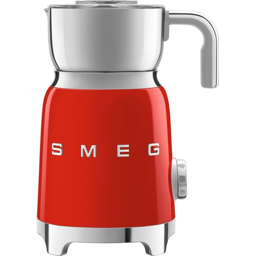 Smeg 50's Retro MFF01RDUK Milk Frother - Red