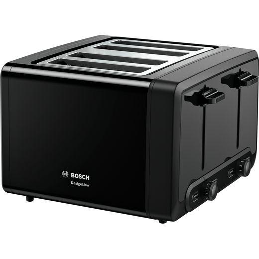 Bosch TAT4P443GB 4 Slice Toaster - Black