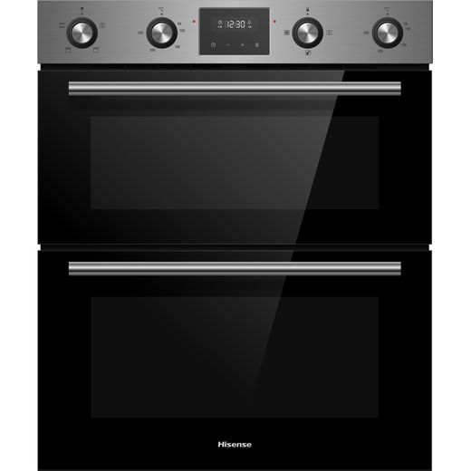Hisense BID79222CXUK Built In Electric Double Oven - Stainless Steel - A Rated