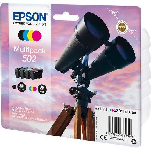 Epson Binocular Multipack 4-colours 502 Ink