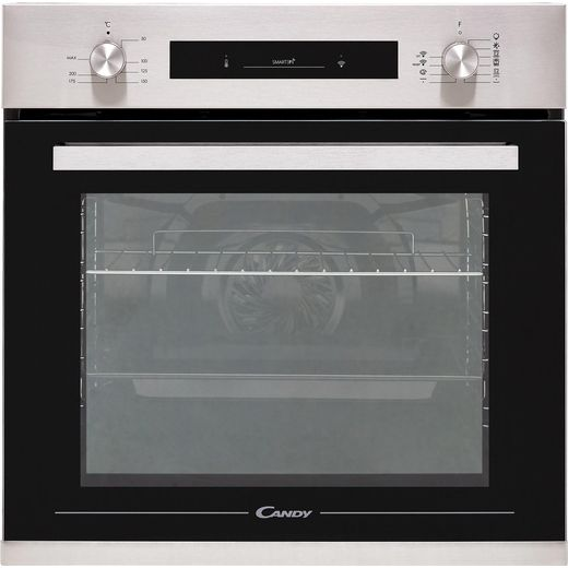 Candy FCP602XE0/E Built In Electric Single Oven - Stainless Steel
