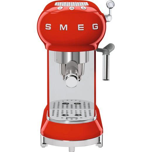 Smeg 50's Retro ECF01RDUK Espresso Coffee Machine - Red