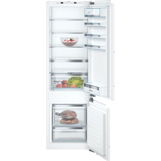 Bosch Serie 6 KIS87AFE0G Integrated 70/30 Fridge Freezer with Fixed Door Fixing Kit - White - E Rated