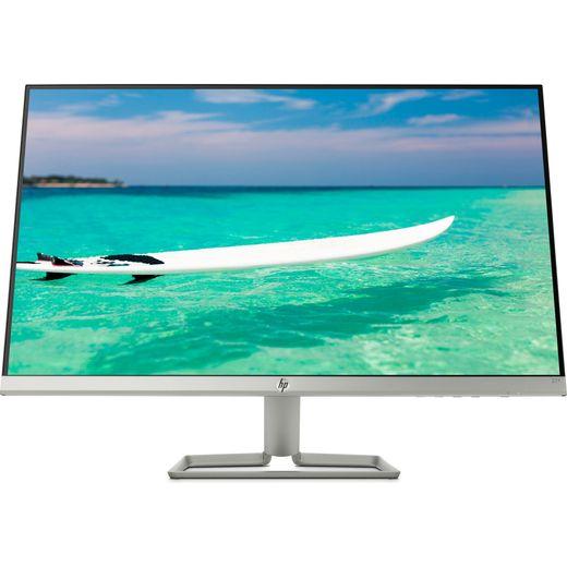 """HP 27f Full HD 27"""" 60Hz Monitor with AMD FreeSync - Silver"""