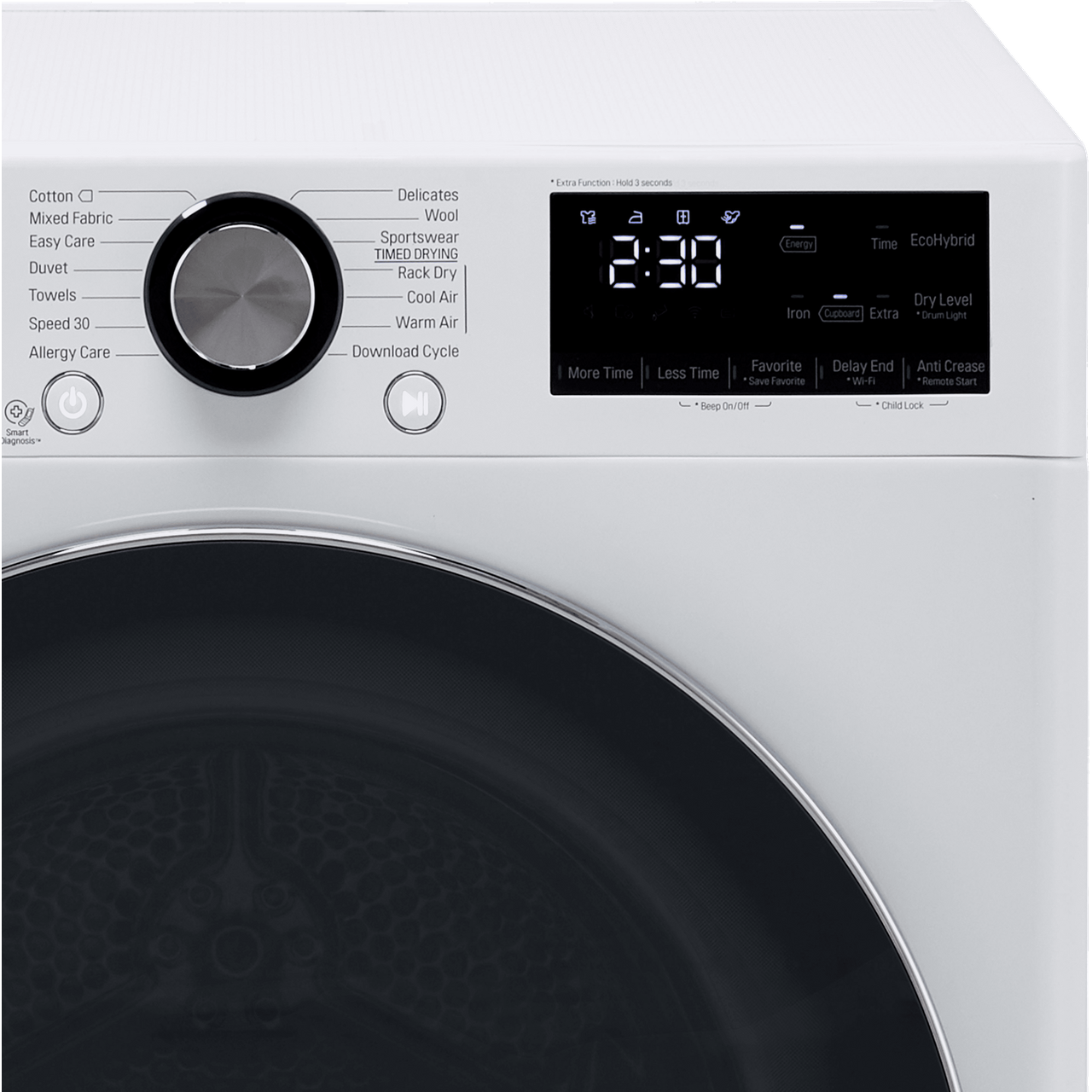 Fdv909w Wh Lg Washer Dryer 9kg Ao Com