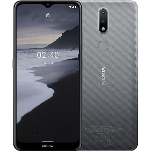 Nokia 2.4 in Charcoal
