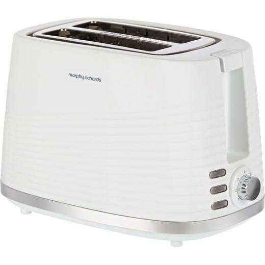 Morphy Richards Dune 220029 2 Slice Toaster - White