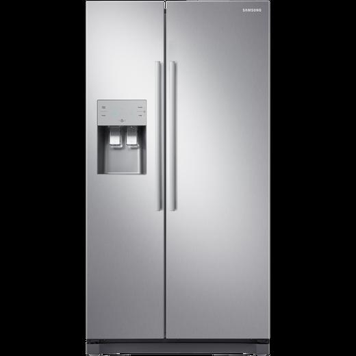 Samsung RS3000 RS50N3513SL American Fridge Freezer - Clean Steel - F Rated