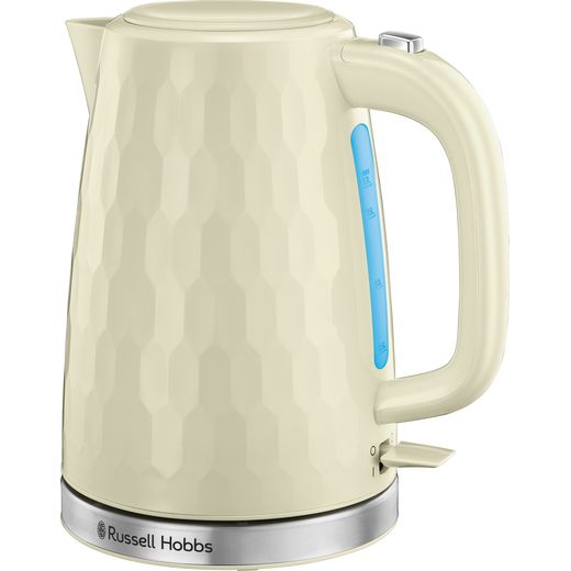 Russell Hobbs Honeycomb 26052 Kettle - Cream