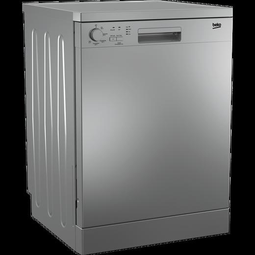 Beko DFN05320S Standard Dishwasher - Silver - E Rated