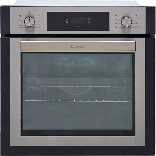 Candy Elite FCNE635X Built In Electric Single Oven - Stainless Steel / Black - A+ Rated