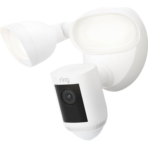 Ring Floodlight Cam Wired Pro Full HD 1080p - White