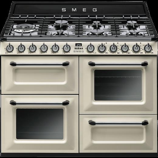 Smeg Victoria TR4110P1 110cm Dual Fuel Range Cooker - Cream - A/A Rated