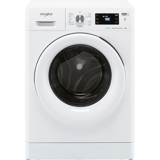Whirlpool FFB7438WVUK 7Kg Washing Machine with 1400 rpm - White - D Rated