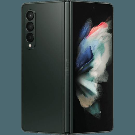Samsung Galaxy Z Fold3 5G 512GB Foldable Phone in Phantom Green