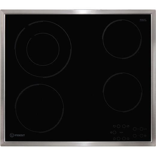 Indesit RI261X 58cm Ceramic Hob - Black