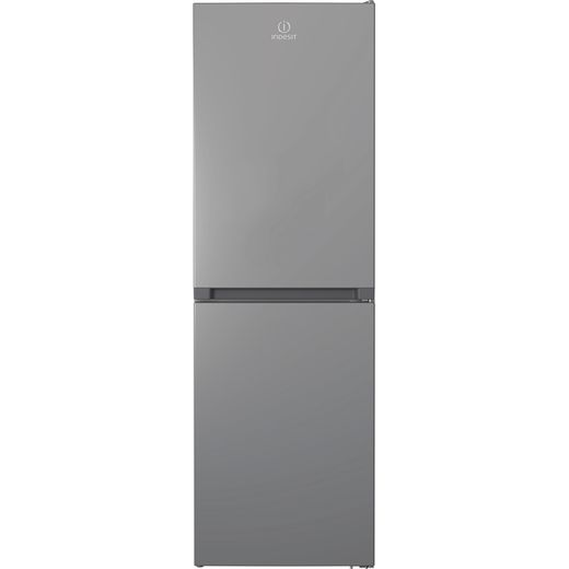 Indesit INFC850TI1S1 50/50 Frost Free Fridge Freezer - Silver - F Rated