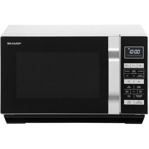 Sharp R360SLM 23 Litre Microwave - Silver