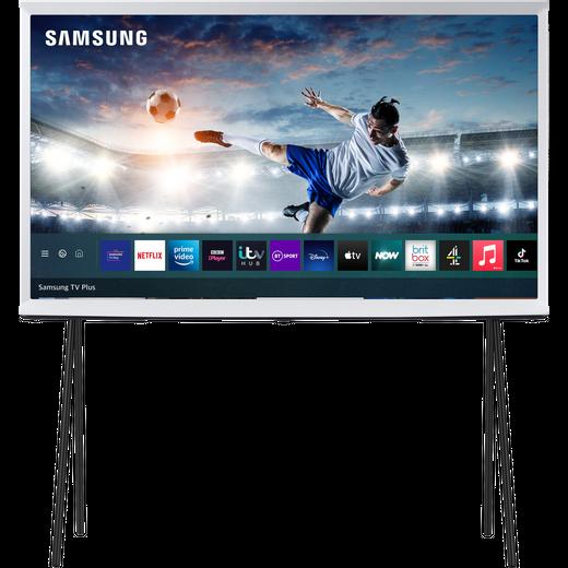 "Samsung Serif QE43LS01TA 43"" Smart HDR 4K Ultra HD QLED TV With 100% Colour Volume, Quantum Processor 4K"