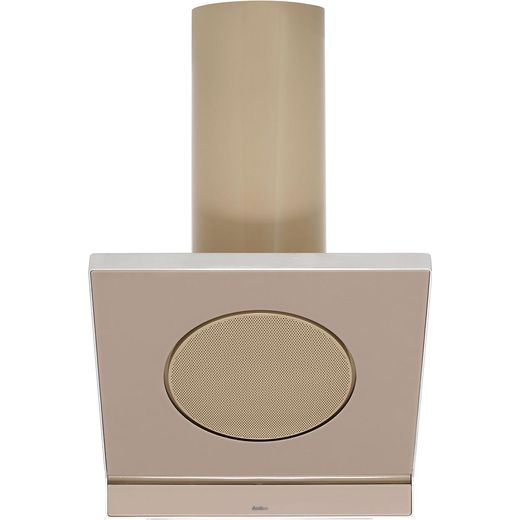 Amica IN600MS 60 cm Angled Chimney Cooker Hood - Beige - B Rated