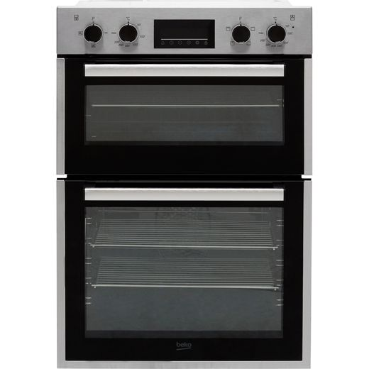 Beko BBDF26300X Built In Electric Double Oven - Stainless Steel - A/A Rated