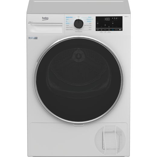 Beko B5T4923IW 9Kg Heat Pump Tumble Dryer - White - A++ Rated
