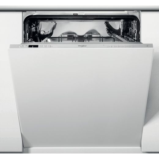 Whirlpool WIC3C26NUK Fully Integrated Standard Dishwasher - Silver Control Panel with Fixed Door Fixing Kit - E Rated