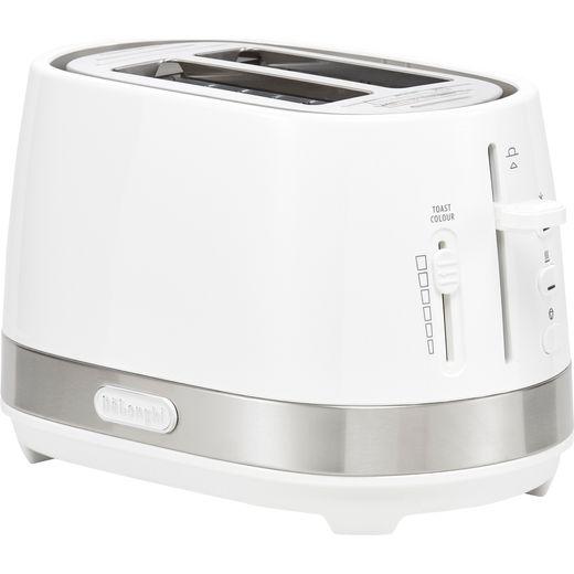 De'Longhi Active Line CTLA2003.W 2 Slice Toaster - White