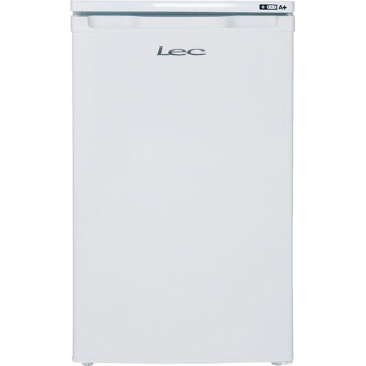 Lec U5511W.1 Under Counter Freezer - White - F Rated