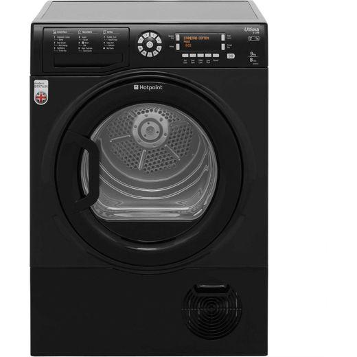 Hotpoint Ultima S-Line SUTCD97B6KM 9Kg Condenser Tumble Dryer - Black