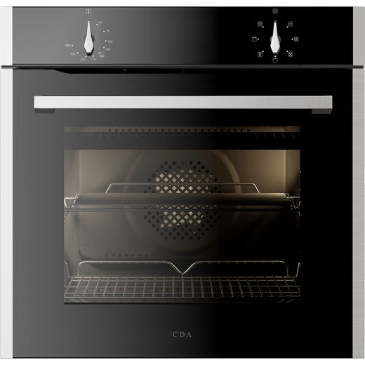 CDA SL100SS Built In Electric Single Oven - Stainless Steel - A Rated