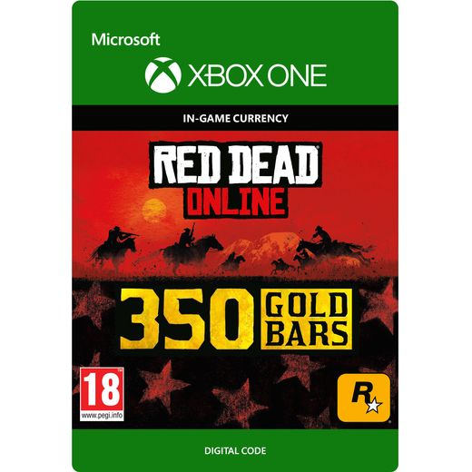 Red Dead Redemption 2 350 Gold Bars For Xbox One Digital Download