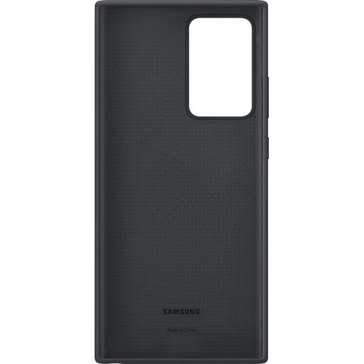 Samsung Silicone Case for Galaxy Note20 Ultra - Black