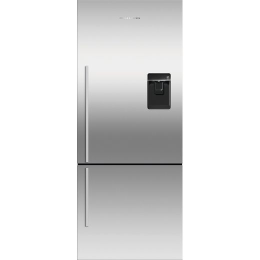 Fisher & Paykel RF402BRXFDU5 Frost Free Fridge Freezer - Silver - F Rated