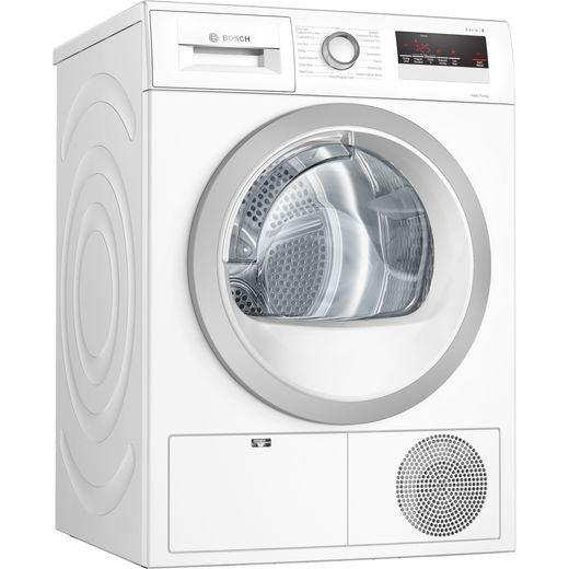 Bosch Serie 4 WTH85222GB 8Kg Heat Pump Tumble Dryer - White - A++ Rated